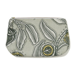 Youngiana Grey Heavyweight Toiletry Wash Bag