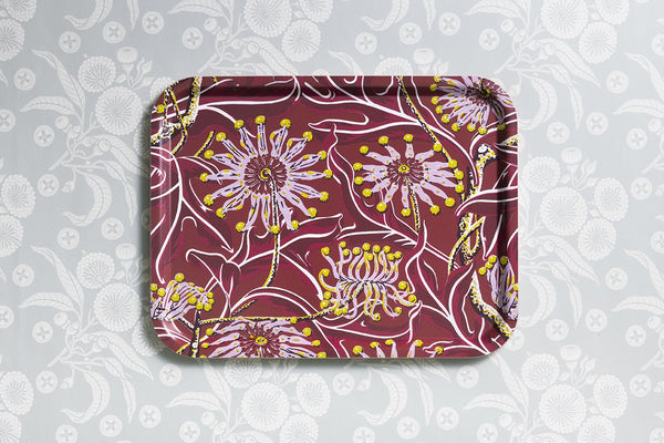 Firewheel Red Tray