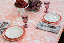 Wallaby Shell Coral Tablecloth
