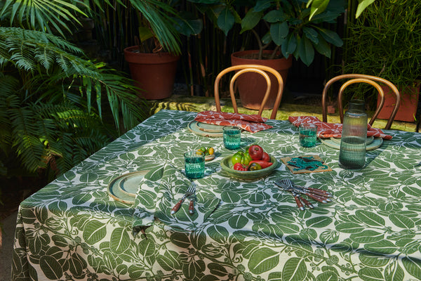 Stringybark Moss Tablecloth