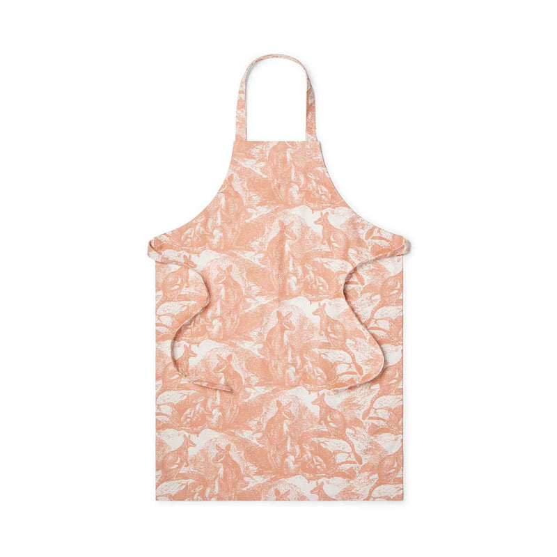 Wallaby Shell Coral Apron