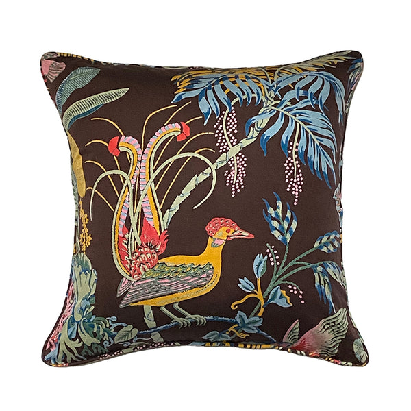 Paradise Cocoa Light Weight 50x50 Cushion Cover