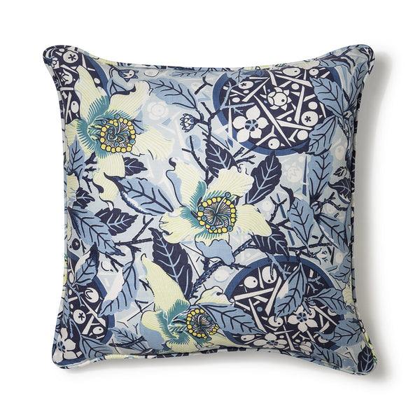 Native Hibiscus Ocean Light Weight 50x50 Cushion Cover