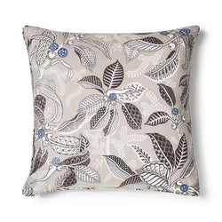 Fig Coffee Light Weight 50x50 Cushion Cover