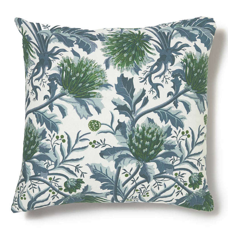 Matchstick Banksia Blue Cushion Cover - 60 x 60