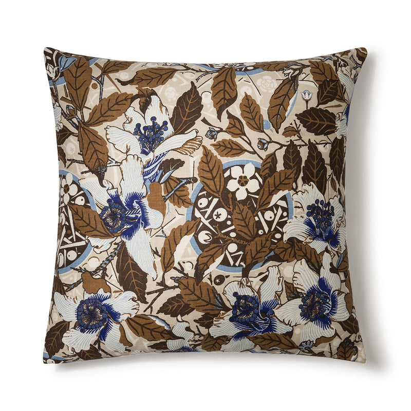Native Hibiscus Coffee 60x60 Cushion Cover