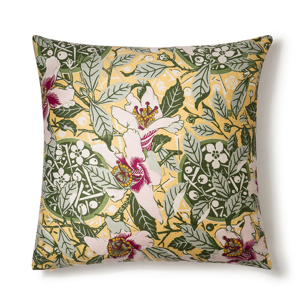 Native Hibiscus Garden 60x60 Cushion Cover