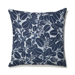 Stringybark Indigo 60x60 Cushion Cover