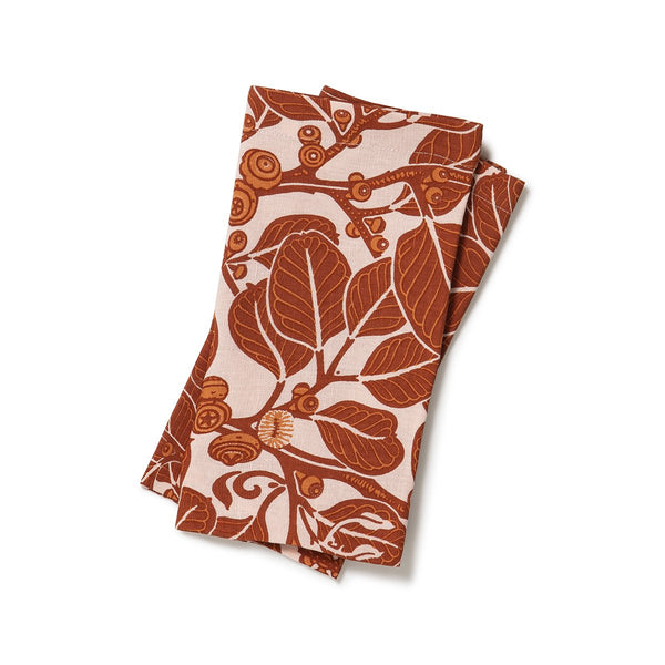 Stringybark Clay Napkins Set of 2