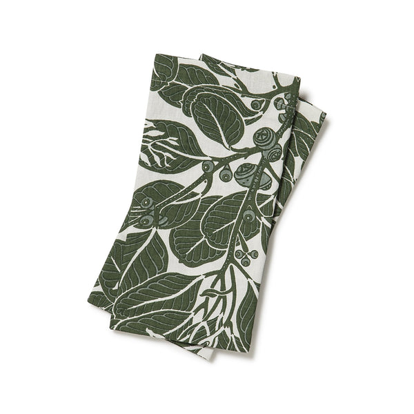 Stringybark Moss Napkins Set of 2