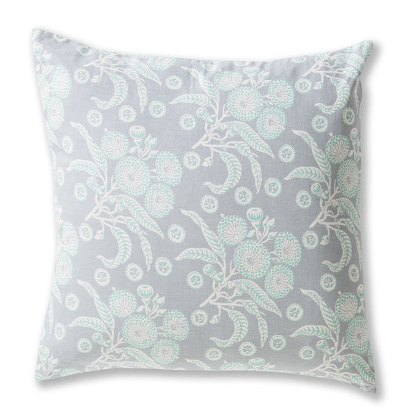 Native Posy Grey Cushion Cover – 50 x 50