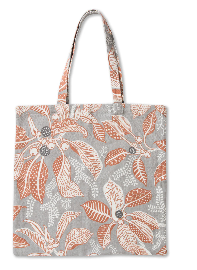 Fig Grey Tote Bag