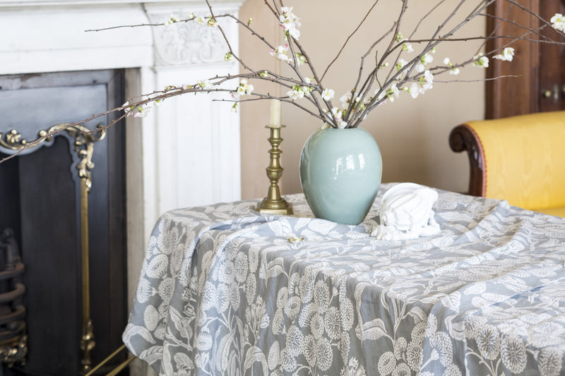 Angophora Grey Tablecloth