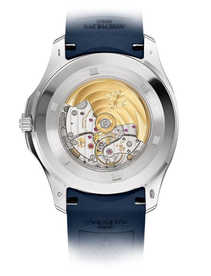Aquanaut White Gold/ Blue Embossed Dial (Ref#5168G-001)