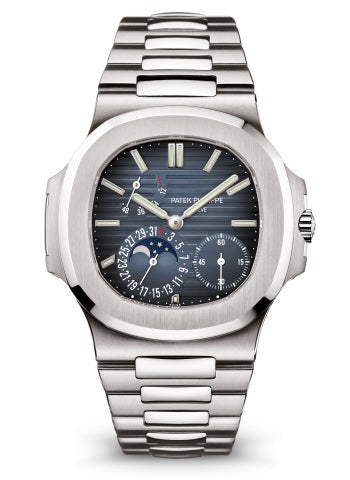 "Patek Philippe Nautilus Moonphase Blue Dial 5712/1A ""Geneva Seal"" (Ref#5712/1A)"
