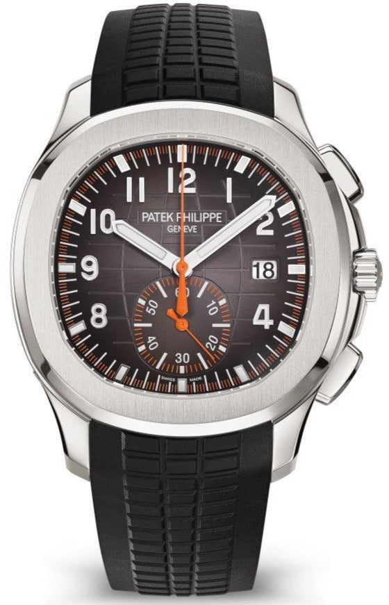 Aquanaut Chronograph Stainless Steel/ Black Dial (Ref#5968A-001)