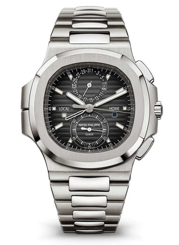Patek Philippe Nautilus Chronograph Stainless Steel/ Black Dial (Ref#5990/1A-001)