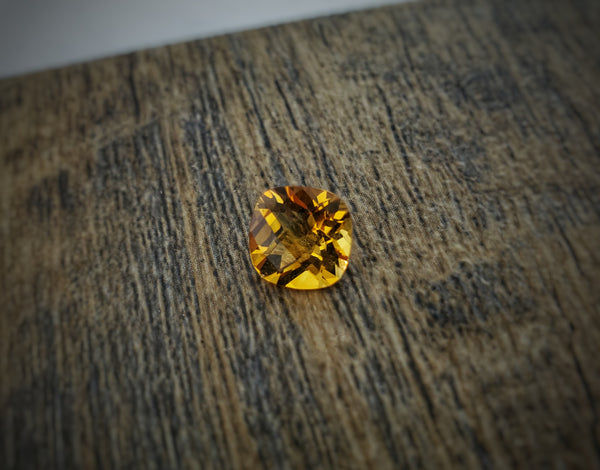 2.5ct Cushion Citrine