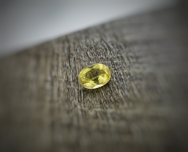 2.04ct Oval Yellow Beryl