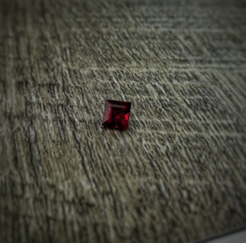 .46ct Square Step Cut Ruby