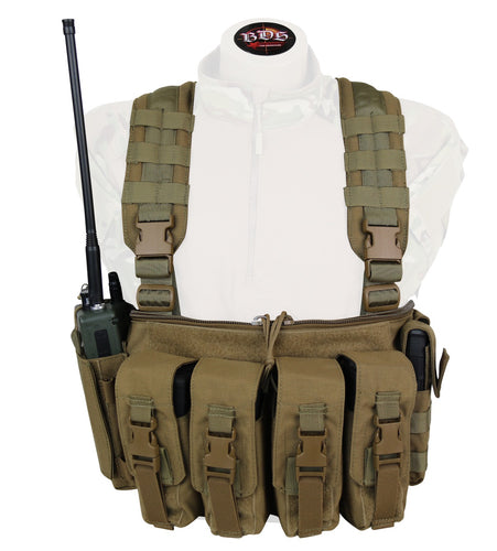 5.56 / .308 V-OPS Customizable Chest Rig