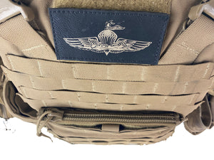 USMC Plate carrier / FLAK kangaroo pouch zipper upgrade