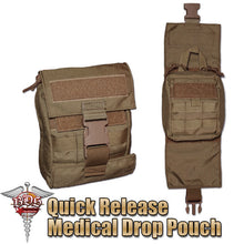 Load image into Gallery viewer, Modular Medical Quick Release Pouch