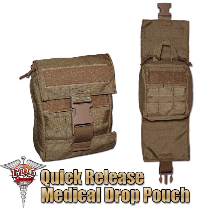 Modular Medical Quick Release Pouch
