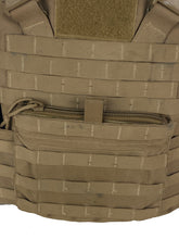 Load image into Gallery viewer, USMC Plate carrier / FLAK kangaroo pouch zipper upgrade