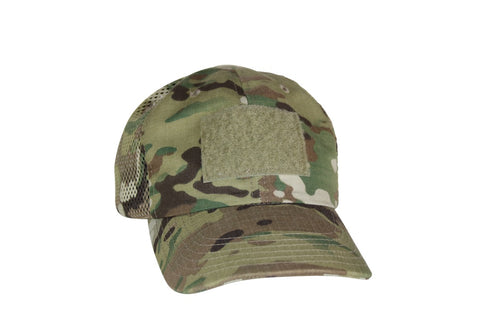 Multicam Contractor Cap, Ripstop with mesh back 2 PC Velcro Closure