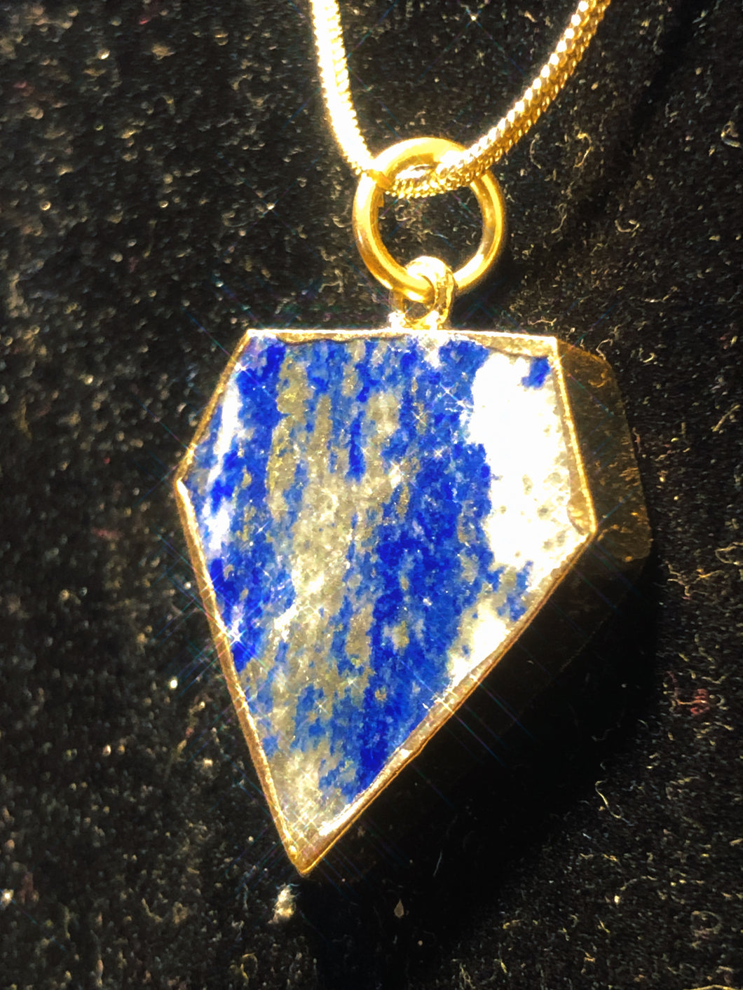 Nipsey Blue Lapis Superman Necklace