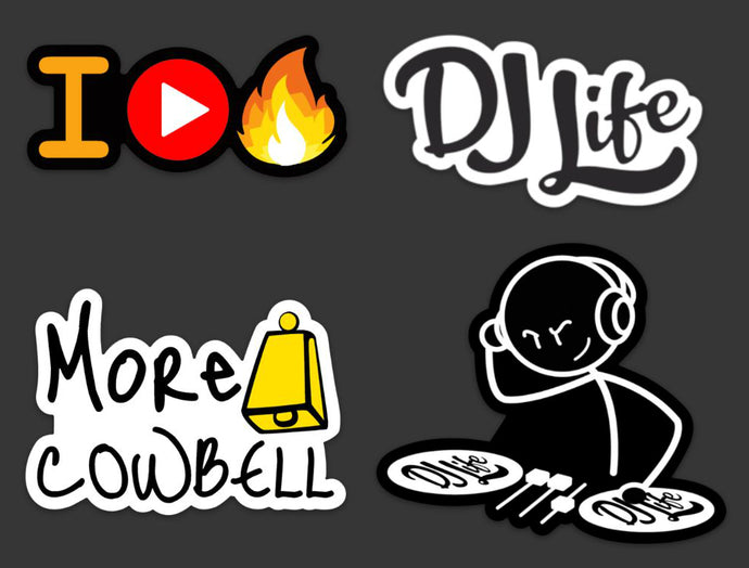 DJ Life Sticker Pack (Drop 2 Edition)