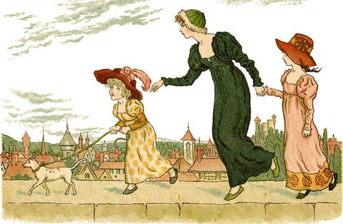 Kate Greenaway illustration