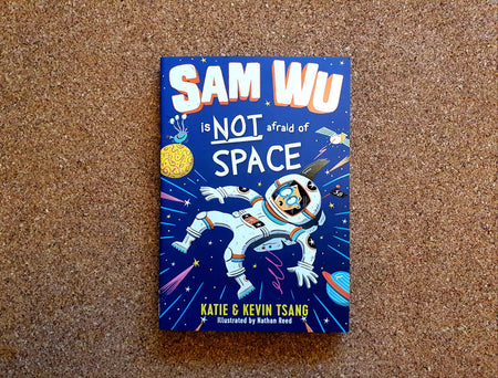 Sam Wu is NOT afraid of Space