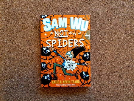 Sam Wu is not afraid of Spiders