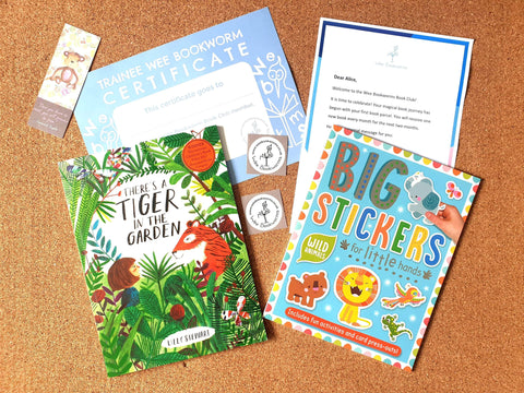 Young Children Book Subscription 3-6 years