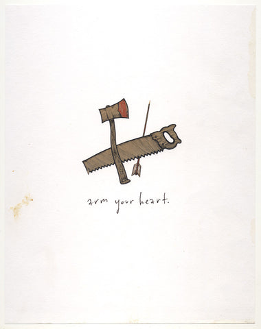 Arm your heart