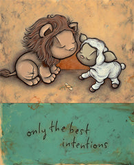 Only the best intentions by Kurt Halsey