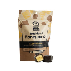 Little Ozzie Treats | Dark Chocolate Honeycomb | Online Chocolate