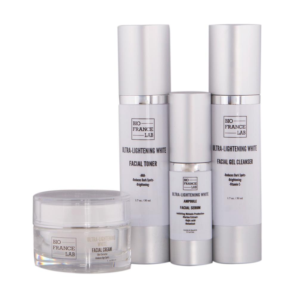ULTRA-LIGHTENING WHITE TREATMENT 4 PCS SET RETAIL