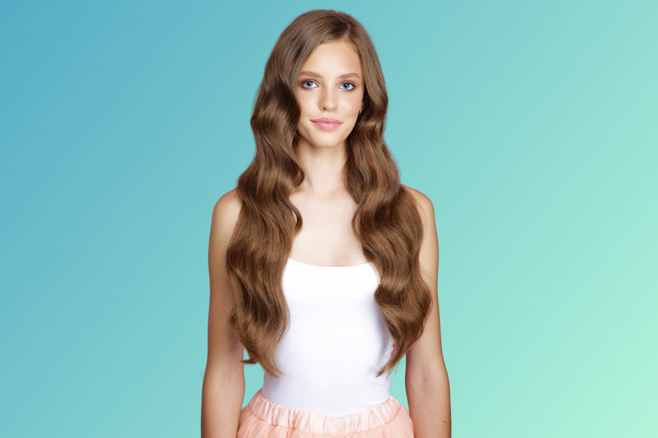 Clip In Hair Extensions - Barely Brown