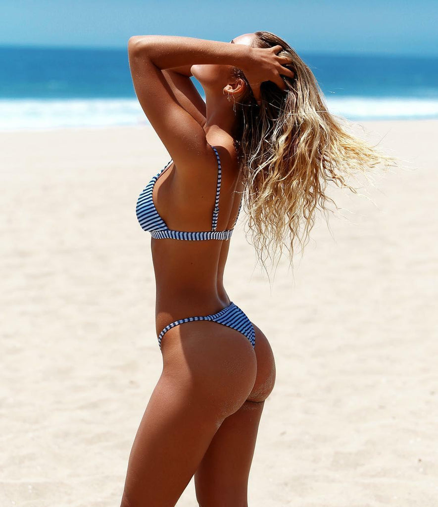 Hit Summer Stripe Bikini Set - bohosecret