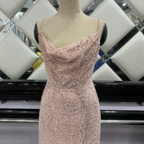 Pink Sexy Sling Party Midi Dress - bohosecret