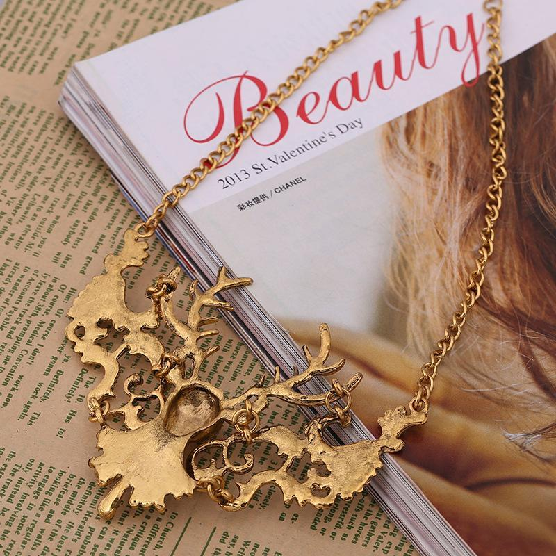 Vintage Elk Necklaces Accessories - bohosecret