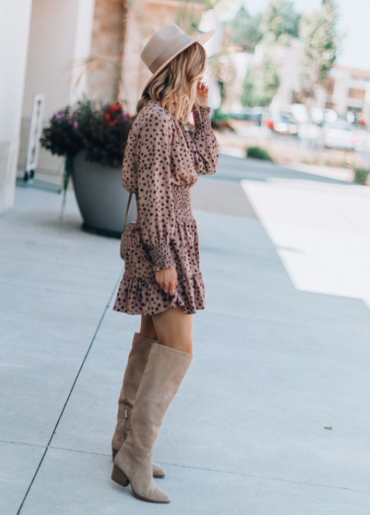 Leopard Print Waist Mini Dress - bohosecret