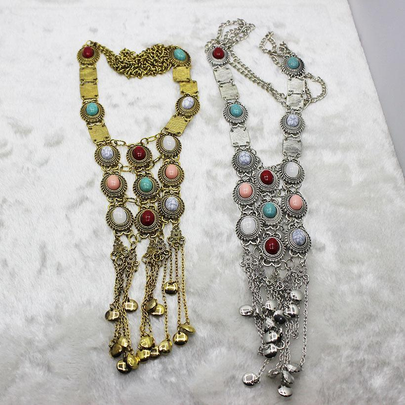 Vintage Crystal Tassels Necklaces - bohosecret