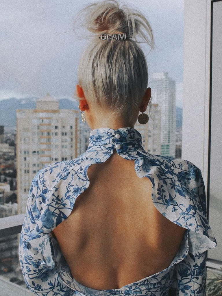 Ruffled Sexy Backless Tops - bohosecret