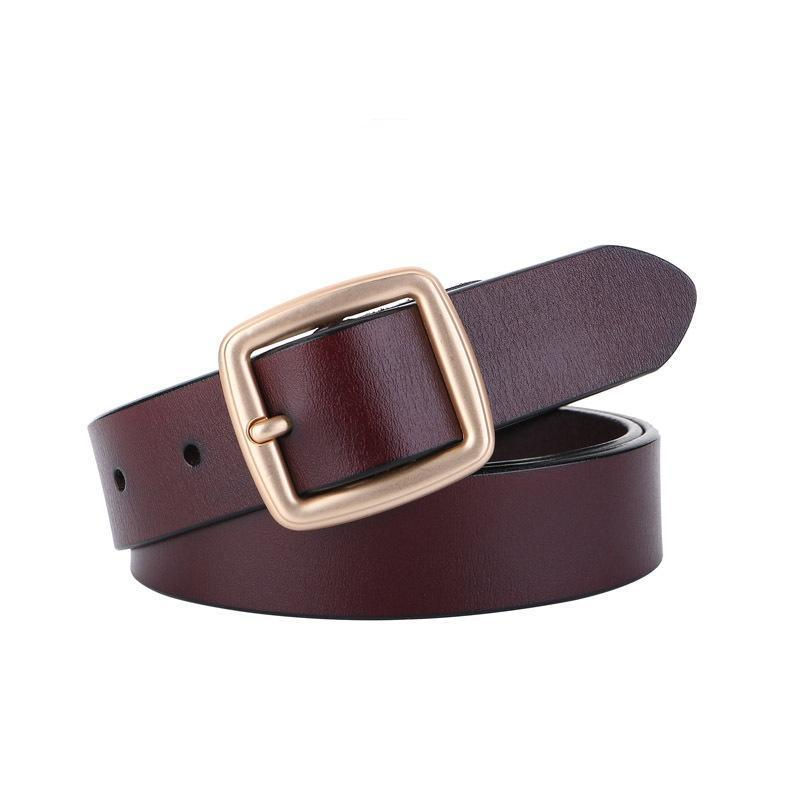 Leather Ladies Fashion Wild Pants Belt - bohosecret