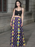 Plus Size Skirts Long Beach Vintage Female Bohemian Bottom - bohosecret