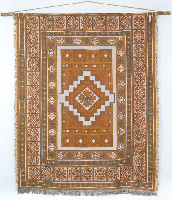 The Sunrise rug - Bohemian throw rug